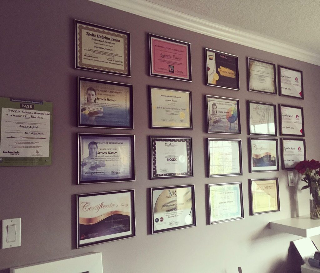 syreetas-wall-of-accomplishments