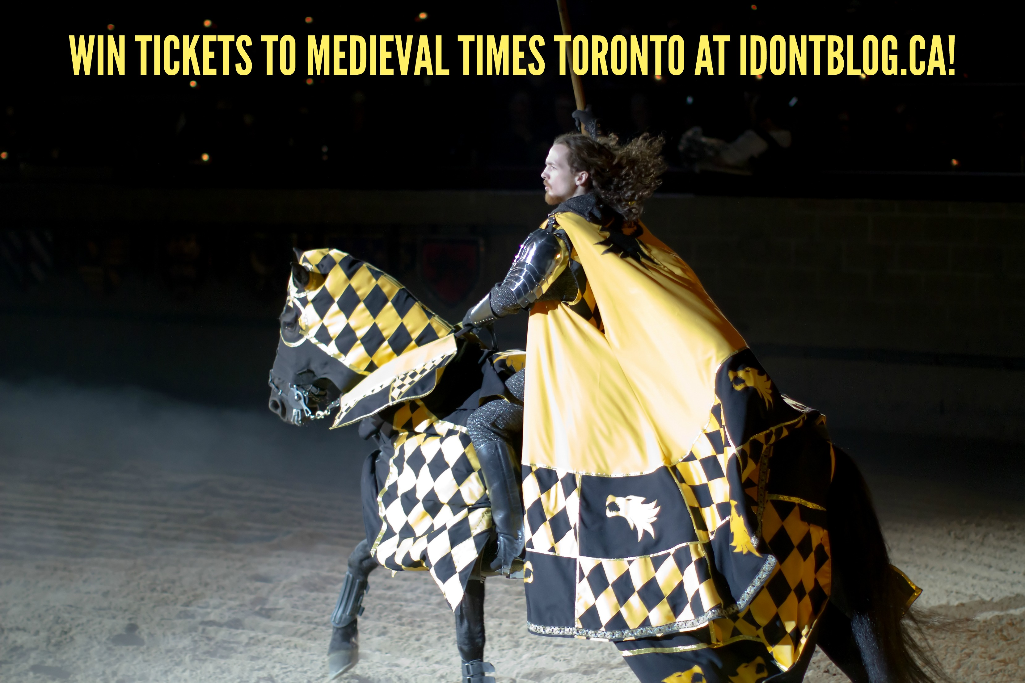 *~ CLOSED ~* Medieval Times Toronto: A Perfect Summer Getaway!